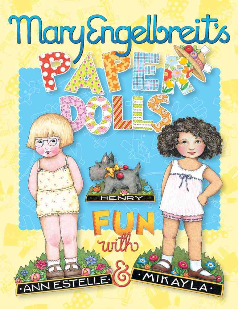 Mary Engelbreit's Paper Dolls By Engelbreit, Mary